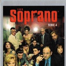 Series de TV: LOS SOPRANO SERIE 4 (4 DVD). Lote 156720918