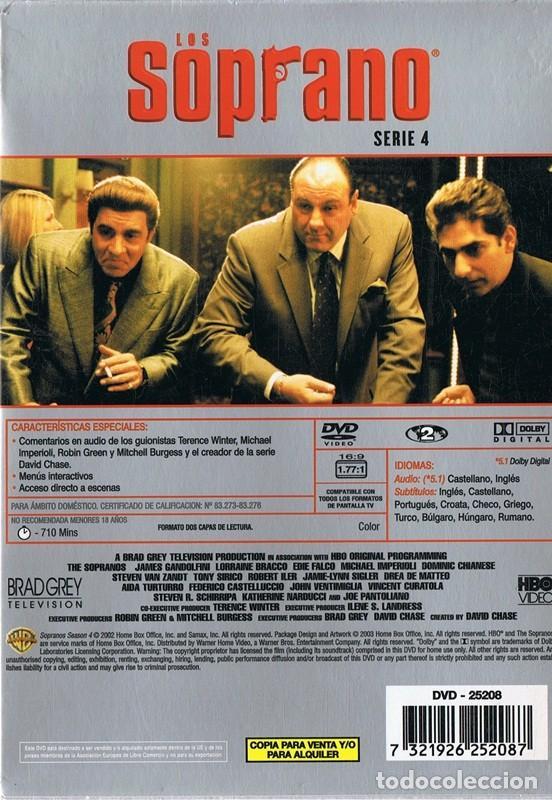 Series de TV: LOS SOPRANO SERIE 4 (4 DVD) - Foto 2 - 156720918
