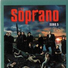 Series de TV: LOS SOPRANO SERIE 5 ( 4 DVD). Lote 156721086