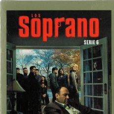 Series de TV: LOS SOPRANO SERIE 6 (4 DVD). Lote 156721226