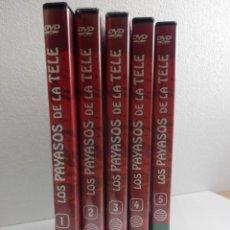 Series de TV: LOTE DE 5 DVD,S LOS PAYASOSDE LA TELE. Lote 156884662