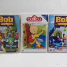 Series de TV: LOTE DE 3 DVD,S INFANTILES. Lote 156888750