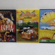 Series de TV: LOTE DE 3 DVD,S INFANTILES-2. Lote 156889014