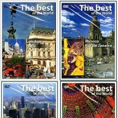 Series de TV: PACK THE BEST OF THE WORLD (LO MEJOR DEL MUNDO) 8 CAPITALES DVD NUEVO A ESTRENAR. Lote 156905506