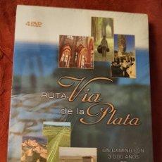 Series de TV: DVD. LA VÍA DE LA PLATA. 4DVDS. 3000 AÑOS DE HISTORIA. DIVISA Y RTVE.. Lote 156911892