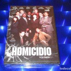 Series de TV: HOMICIDIO ( VOLUMEN 1 ) - 3 DVD - PRECINTADO - RICHARD BELZER - CLARK JOHNSON - KYLE SECOR .... Lote 157358794