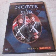 Séries de TV: NORTE Y SUR PARTE 2 DISCO 3 DVD - WARNER BROS 2006. Lote 157654514