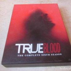 Series de TV: TRUE BLOOD - THE COMPLETE SIXTH SEASON 4 DVDS - HBO 2014. Lote 157656350