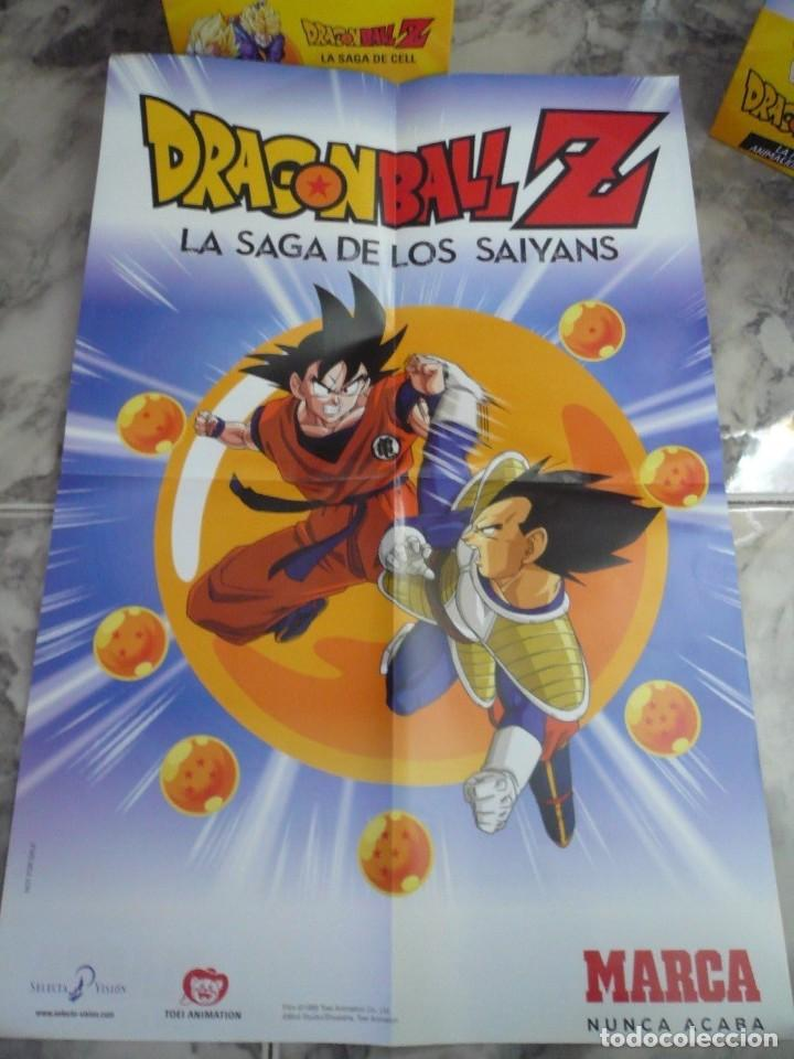 Series de TV: 117 DVD DRAGON BALL Z SAGA SAIYANS Y SAGA FREEZA COMPLETAS+POSTER+CAJA NUEVO - Foto 4 - 157725970