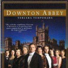 Series de TV: DOWNTON ABBEY TERCERA TEMPORADA 4 DISCOS. Lote 157911182