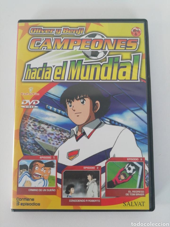 OLIVER Y BENJI, CAMPEONES. CAPÍTULO 1, 2 Y 3. (Series TV en DVD)