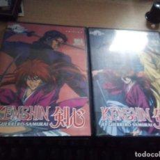 Series de TV: KENSHIN - EL GUERRERO SAMURAI - DVD VOL 6 Y 8. Lote 158143862