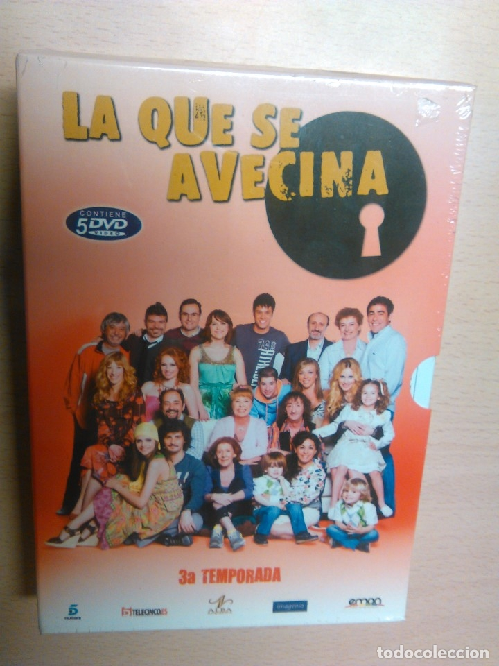 LA QUE SE AVECINA 3º TEMPORADA COMPLETA (PRECINTADO) (Series TV en DVD)