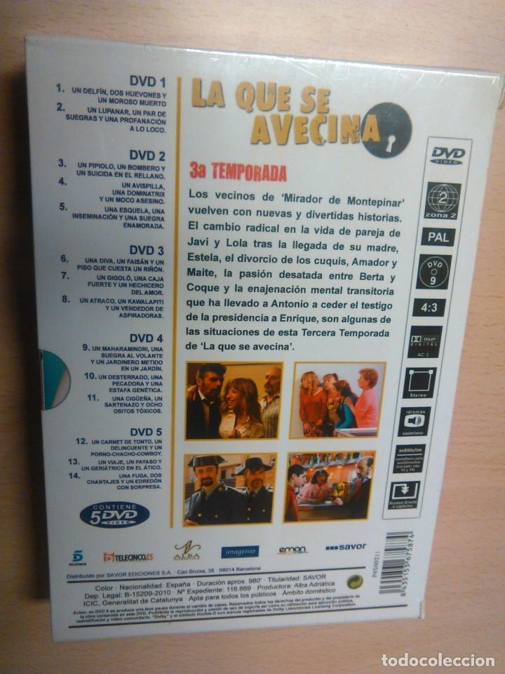 Series de TV: LA QUE SE AVECINA 3º temporada completa (precintado) - Foto 2 - 79847315