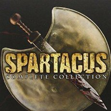 Series de TV: SERIE COMPLETA EN DVD SPARTACUS COMPLETE COLLECTION AUDIO SOLO EN INGLÉS. Lote 158553474