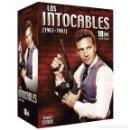 Series de TV: SERIE LOS INTOCABLES 1961 AL 1963 EN 18 DVDS NUEVA A ESTRENAR PRECINTADA EDICIÓN LIMITADA.. Lote 164586762