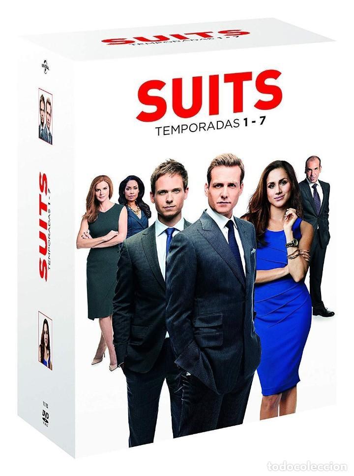 SERIE SUITS 7 TEMPORADAS COMPLETAS EN DVD NUEVO A ESTRENAR PRECINTADO (Series TV en DVD)