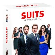 Series de TV: SERIE SUITS 7 TEMPORADAS COMPLETAS EN DVD NUEVO A ESTRENAR PRECINTADO. Lote 158563018