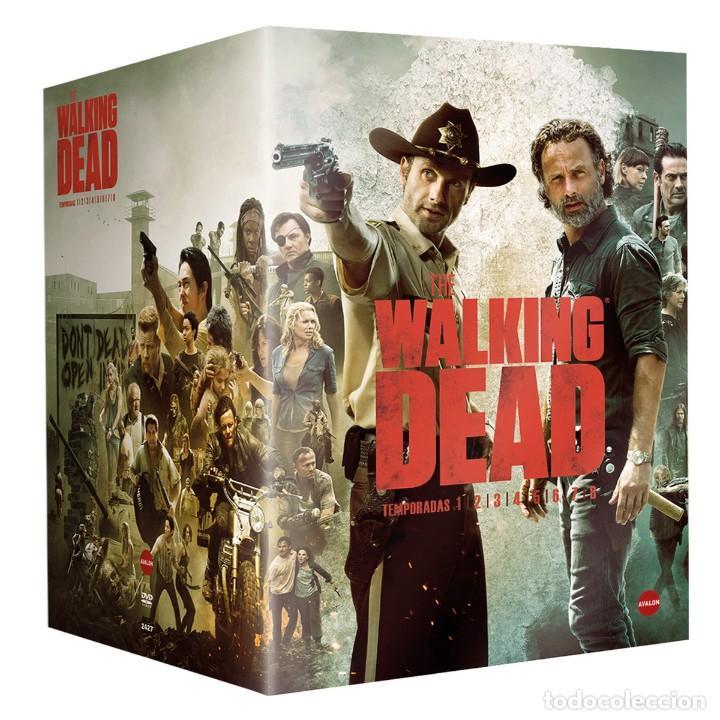 SERIE WALKING DEAD 1 2 3 4 5 6 7 8 TEMPORADAS COMPLETAS EN DVD NUEVO A ESTRENAR (Series TV en DVD)