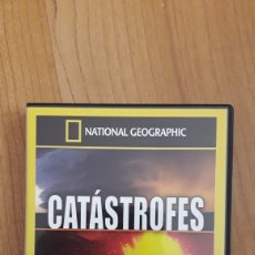Series de TV: DVD NATIONAL GEOGRAPHIC. CATÁSTROFES NATURALES. Lote 158606532
