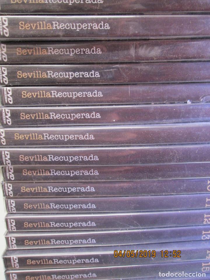 SEVILLA RECUPERADA COLECCIÓN COMPLETA DE 16 DVD. ALFONSO ARTESEROS.PRECINTADOS (Series TV en DVD)