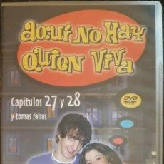 Series de TV: DVD AQUÍ NO HAY QUIEN VIVA CAPÍTULOS 27 Y 28 CON TOMAS FALSAS. Lote 159056229