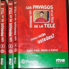Series de TV: DVD LOS PAYASOS DE LA TELE 3U. Lote 159085026
