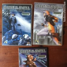 Series de TV: GHOST IN THE SHELL - 3 DVDS - CAPÍTULOS 1 A 3 - 4 A 6 - 11 A 13. Lote 159428061