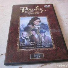Séries de TV: POLDARK SEGUNDA PARTE DVD CAPITULOS 7,8 Y 9 - BBC. Lote 159454718