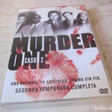 Séries de TV: MURDER ONE CASO 2 - SEGUNDA TEMPORADA COMPLETA - 5 DVDS - TWENTIETH CENTURY FOX 2007. Lote 159455238