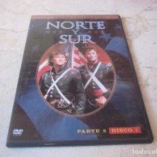 Séries de TV: NORTE Y SUR PARTE 2 DISCO 1 DVD - WARNER BROS 2006. Lote 159455534