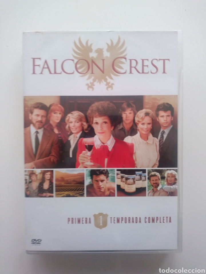 FALCON CREST TEMPORADA 1 (4 DVDS) (Series TV en DVD)