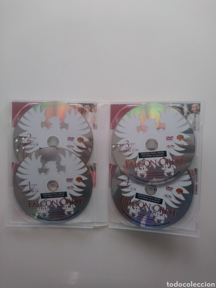 Series de TV: Falcon crest temporada 1 (4 dvds) - Foto 3 - 159509734
