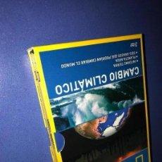 Series de TV: NATIONAL GEOGRAPHIC CAMBIO CLIMATICO 3 DVD A ESTRENAR. Lote 159600925