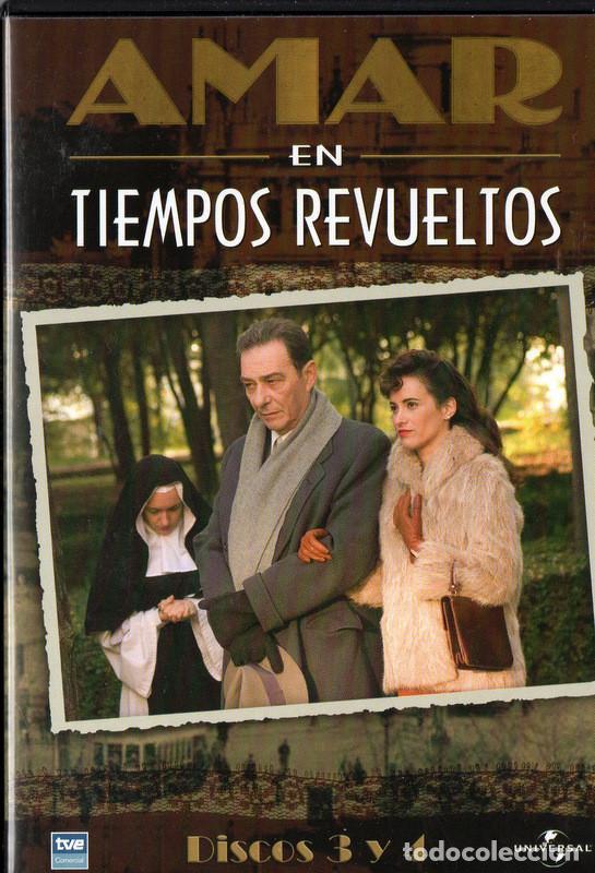 Amar en tiempos revueltos, temporada 1, DVDS 3 Y 4 (Resumen capítulos 39 al  59)