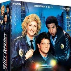 Series de TV: CANCIÓN TRISTE DE HILL STREET - VOL. 1 A 3. Lote 159924425