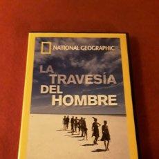 Series de TV: LA TRAVESÍA DEL HOMBRE NATIONAL GEOGRAPHIC LA ODISEA DE LA ESPECIE HUMANA. Lote 160528700