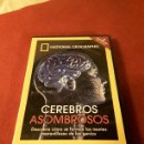 Series de TV: CEREBROS ASOMBROSOS NATIONAL GEOGRAPHIC. Lote 160528809