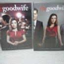 Series de TV: THE GOOD WIFE, PRIMERA Y SEGUNDA TEMPORADAS COMPLETAS EN 12 DVDS. Lote 160540414