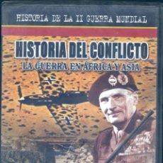 Series de TV: HISTORIA DEL CONFLICTO: LA GUERRA EN AFRICA Y ASIA (PRECINTADO). Lote 160579026