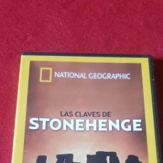 Series de TV: LAS CLAVES DE STONEHENGE NATIONAL GEOGRAPHIC. Lote 160805265