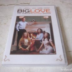 Series de TV: BIG LOVE THE COMPLETE SECOND SEASON DVD - 4 DISCOS - HBO 2007. Lote 160899186