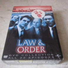 Series de TV: LAW & ORDER THE FIRST YEAR DVD - 6 DISCOS - UNIVERSAL 2003. Lote 160899466