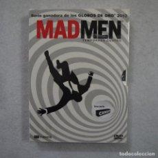 Series de TV: MAD MEN. TEMPORADA CUATRO - DVD PRECINTADO. Lote 161127330