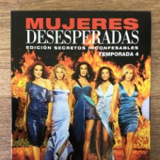 Series de TV: MUJERES DESESPERADAS- - CUARTA TEMPORADA COMPLETA - 5 DVD. Lote 161225910