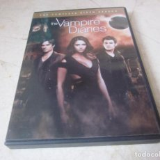 Series de TV: THE VAMPIRE DIARIES - THE COMPLETE SIXTH SEASON DVD - 5 DISCOS - WARNER BROS. USA 2015. Lote 161310722