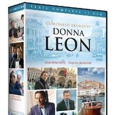 Series de TV - SERIE COMPLETA EN DVD DONNA LEON COMISARIO BRUNETTI NUEVA A ESTRENAR PRECINTADA SIN ABRIR - 162002122