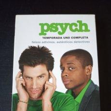 Series de TV: DVD. PSYCH. TEMPORADA 1.. Lote 162052818
