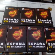 Series de TV: LOTE DE 7 DVDS MUNDIAL SUDÁFRICA 2010, ESPAÑA CAMPEÓN, MUNDIAL DE FÚTBOL. COMPLETO. Lote 171064455