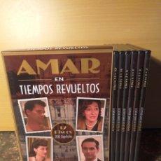 Series de TV: DVD AMAR EN TIEMPOS REVUELTOS SERIE COMPLETA 12 DVD 200 CAPITULOS. Lote 162791160
